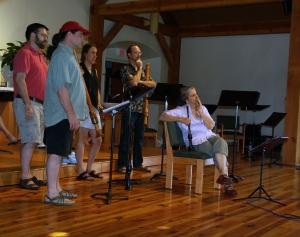 Piffaro's Greg, Tom, Joan, Bob, and Christa