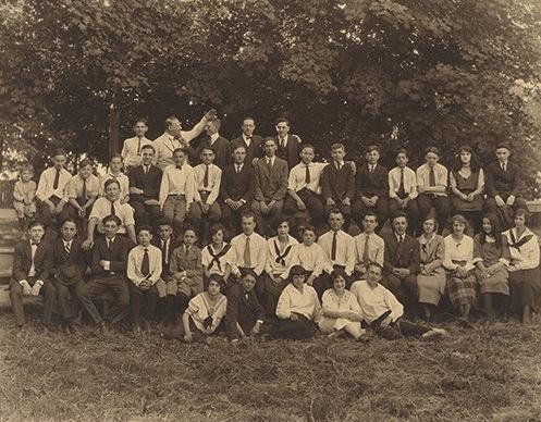 Symphony Club String Orchestra, 1921-22