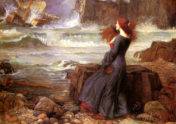 Miranda—The Tempest (1916), John William Waterhouse