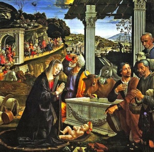 from Nativity, Domenico Ghirlandaio, c.1480